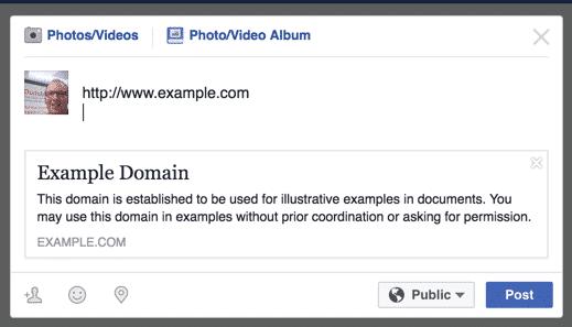 facebook-sharing error