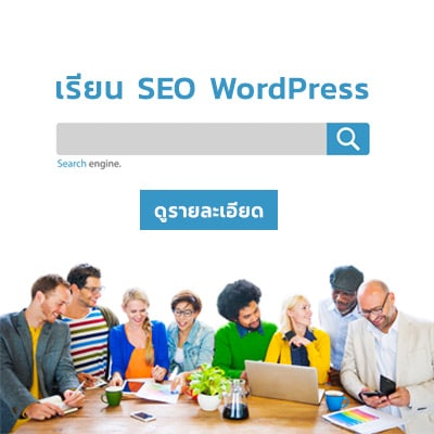 รับ SEO WordPress