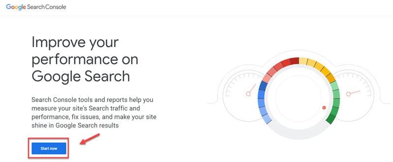 ติดตั้ง Google search console