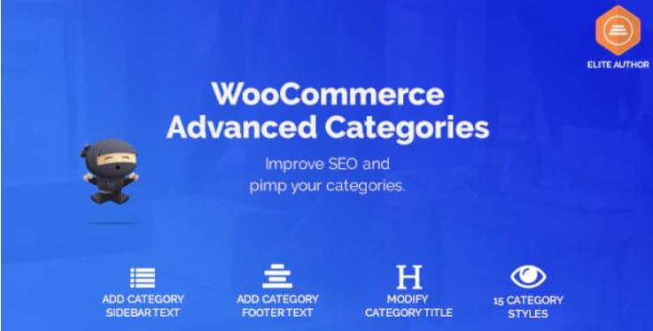 WooCommerce Advance Categories